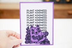 Waffle Flower - Plant Kindness Card