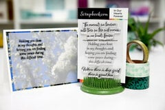 Sympathy Card Sentiments - In Our Hearts Forever Stamp Set