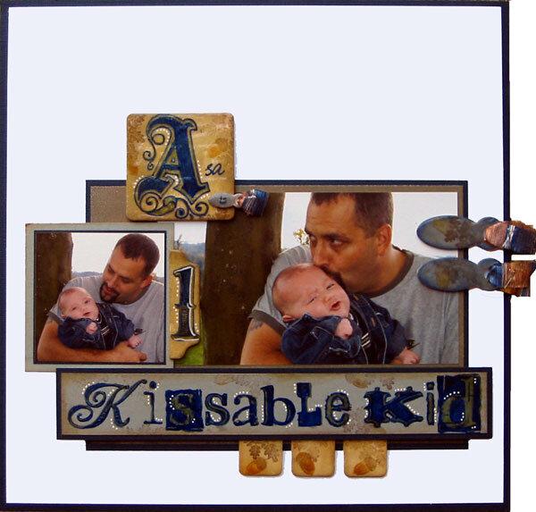 Asa is 1 Kissable Kid