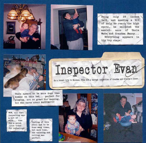 Inspector Evan (left)