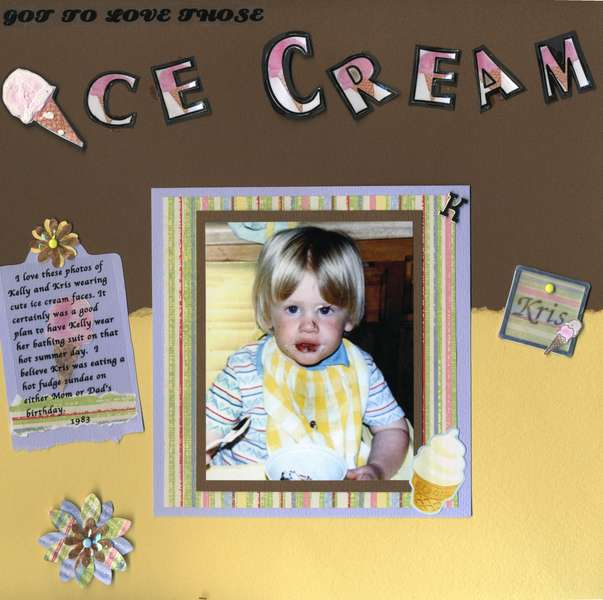 Ice Cream Faces page 1