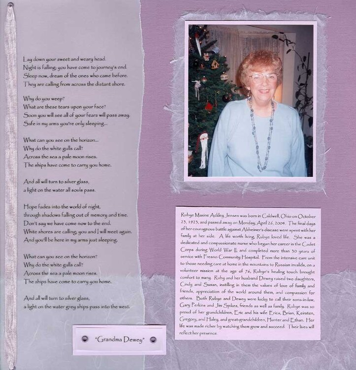 Grandma Dewey