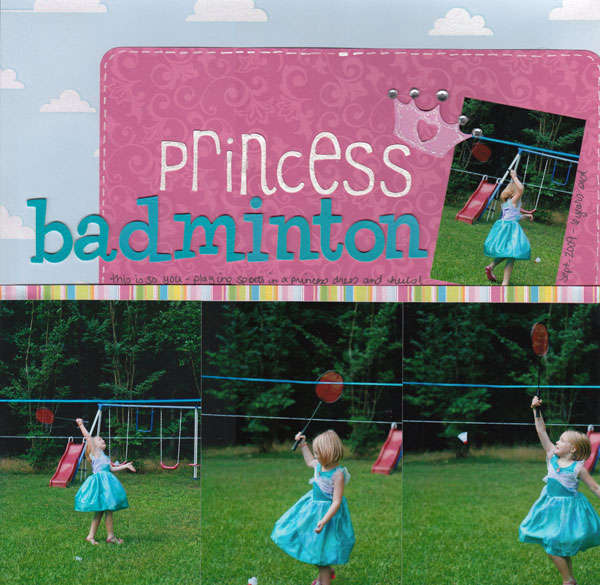 Princess Badminton
