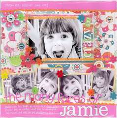 The Many Faces of Jamie **Lucky 7 Contest**