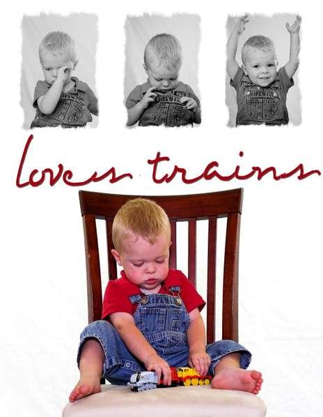 Caleb loves trains 2