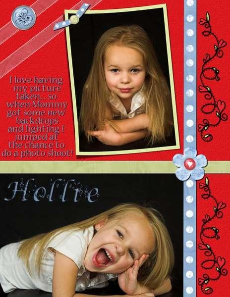 Little Model Hollie