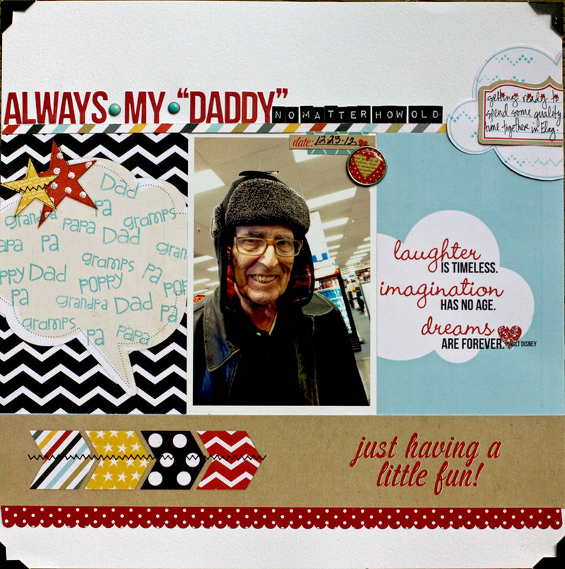 Always My Daddy ***NEW*** Simple Stories
