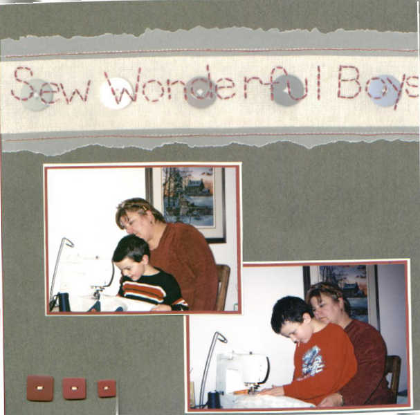 Sew Wonderful Boys