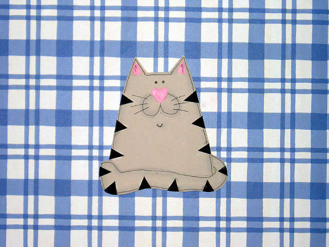 Kitty Cat Paper Piecing