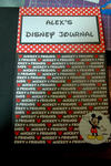 Alex's Disney Journal - Cover