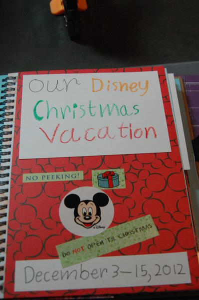 Alex's Disney Journal - Title Page