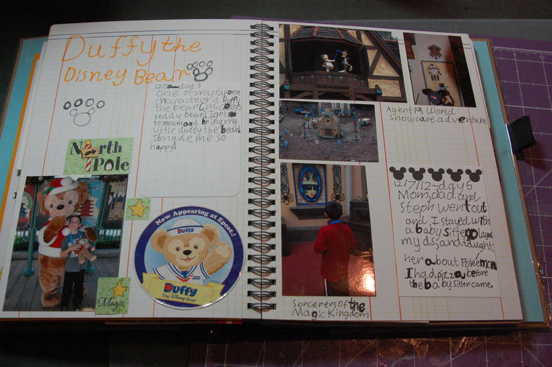 Alex's Disney Journal - Duffy & SOTMK