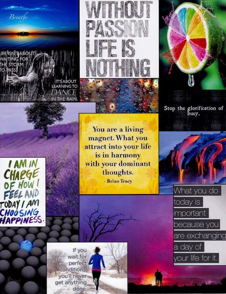 One Little Word - Vision Board - Choose (1)