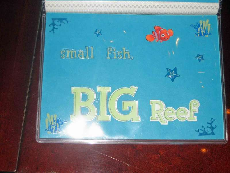 Small Fish, Big Reef - Front Cover