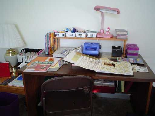 My Scrapbook Area