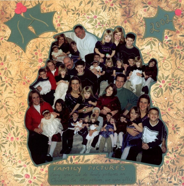 Families at Christmas