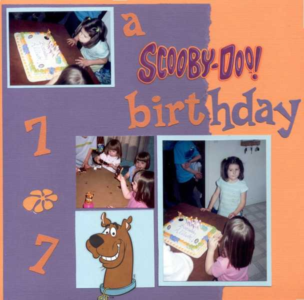 a Scooby-Doo birthday