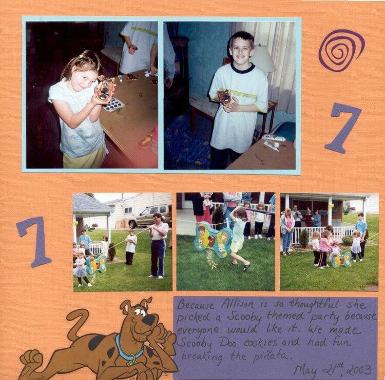 Scooby Birthday pg 2