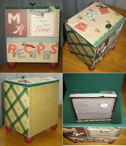 We r Memory Keepers Recipe Box