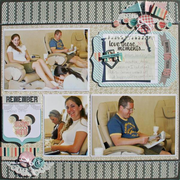 Love these Moments *March Scraptastic Club kit