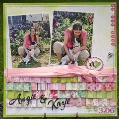Angie and Kazie *Basic Grey
