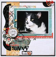 Beautiful Savvy *Basic Grey Max & Whiskers