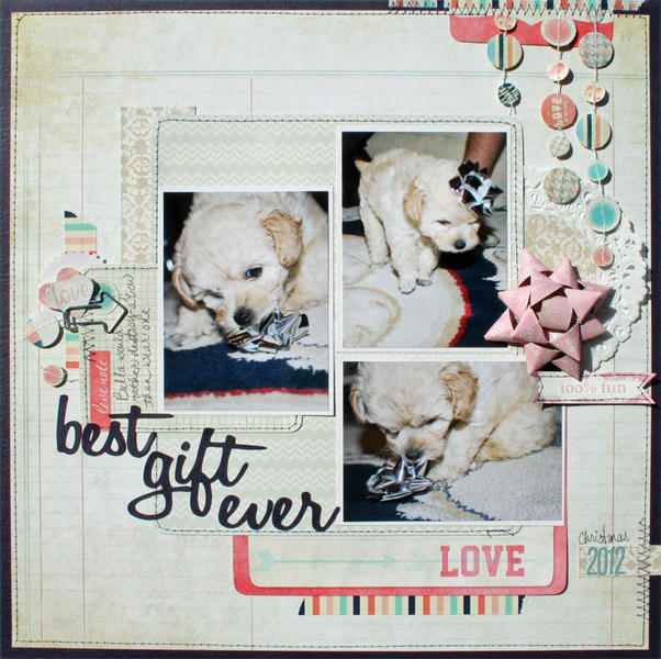 Best Gift Ever *March Scraptastic Club kit