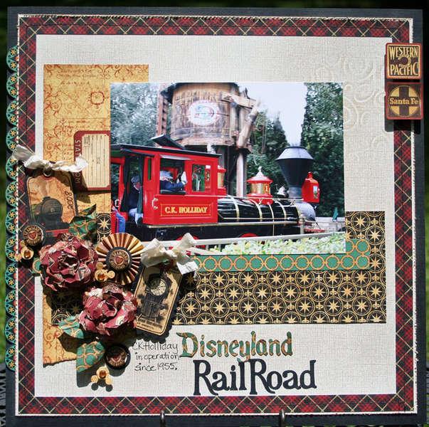 Disneyland Railroad G45