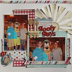 Goofy Guys *Carta Bella Homemade with Love
