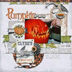 Pumpkin Pro *Echo Park Chillingsworth Manor*