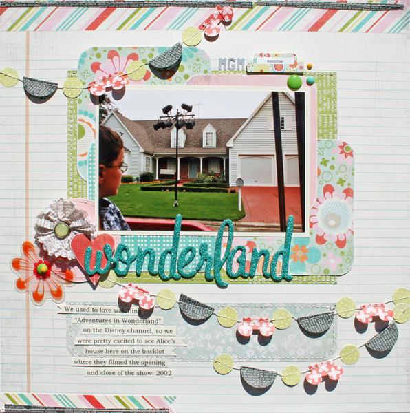 Wonderland *BasicGrey Hey Girl