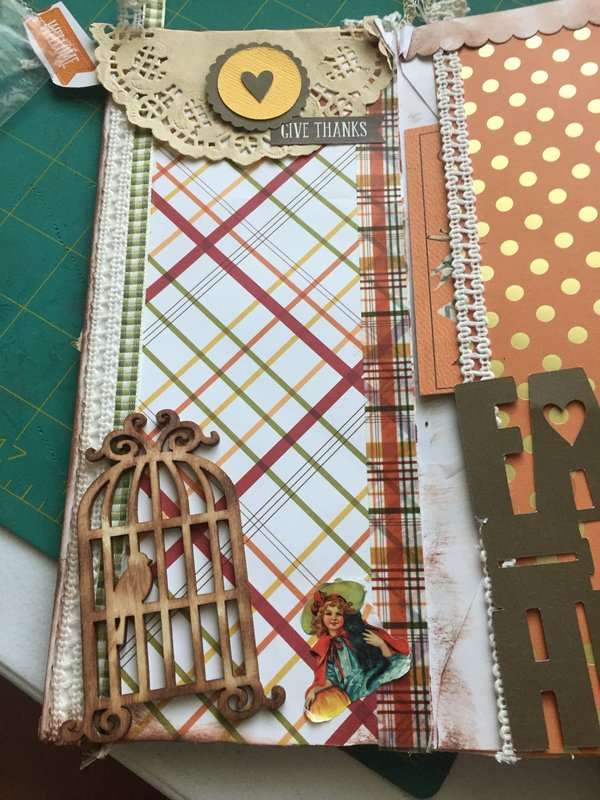 Envelope junk journal