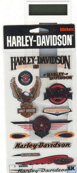 harely stickers