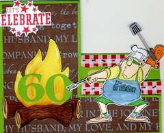 Let's Celebrate 60 card