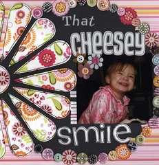 that cheesy smile