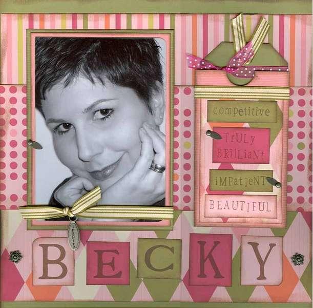 BECKY- #4