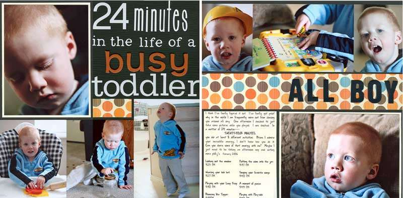 24 minutes in the life of a busy toddler