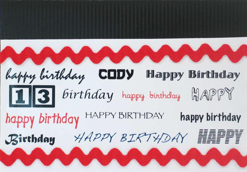 Card: Happy Birthday (13)