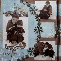 my little snow men pg 1