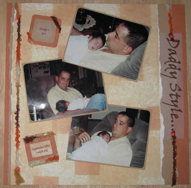 Tummy Time...Daddy Style.. Pg 2