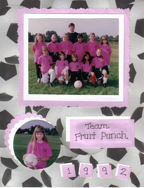 Soccer 1992, Team Fruit Punch