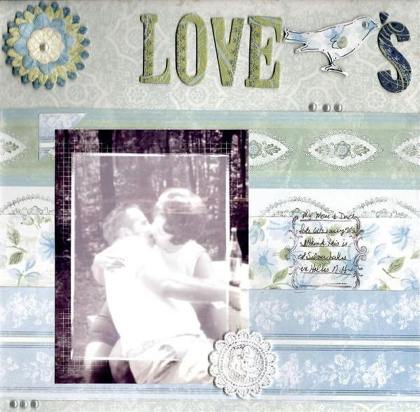 DW2008 & page planners #2 ~Love Birds~
