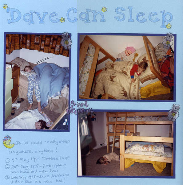 Dave Can Sleep