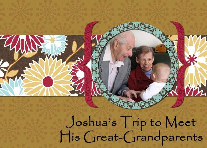 Joshua's Trip to Meet His Great-Grandparents