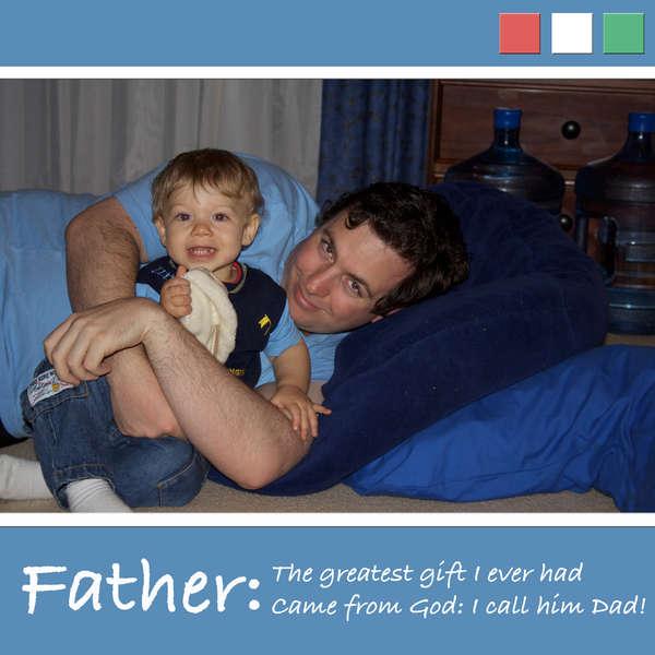 Dad page (digital)