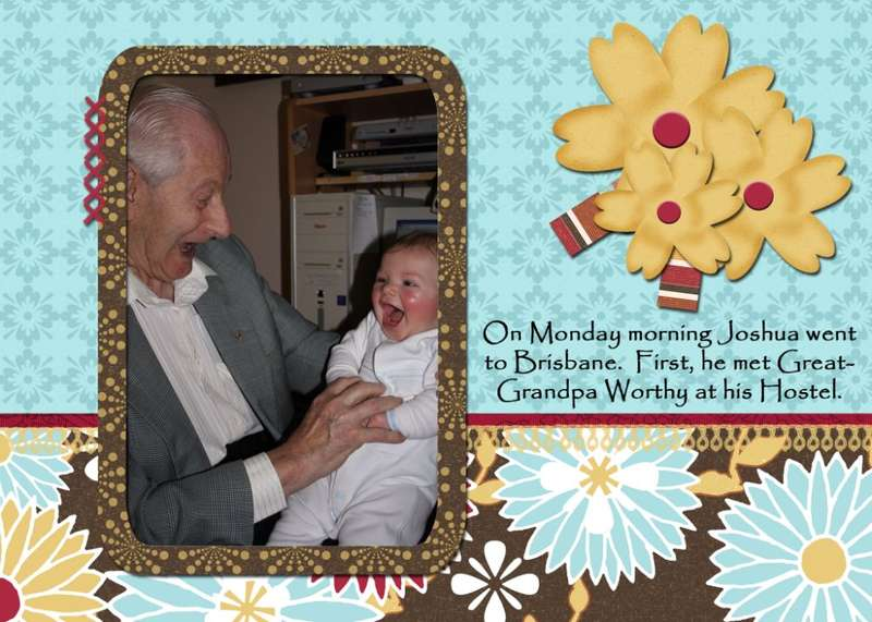 Joshua & Great-Grandpa