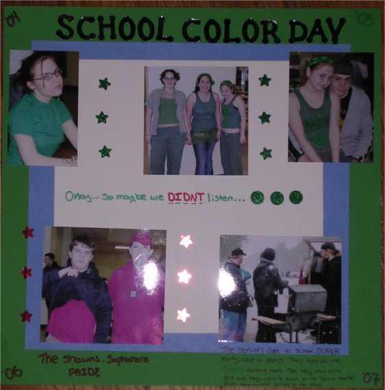 Spirit Week #6: School Colors