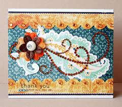 *Zva Creative* Thank You card