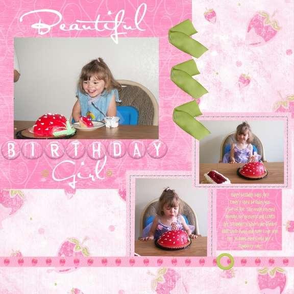 Beautiful Birthday Girl