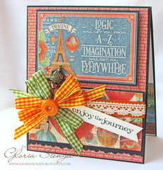 World's Fair Card with Bow